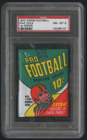 1970 Topps Football Unopened Wax Pack - 1st Series (PSA 8) at PristineAuction.com