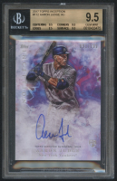 2017 Topps Inception #112 Aaron Judge Autograph #091/199 RC (BGS 9.5)