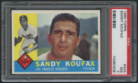 1960 Topps #343 Sandy Koufax (PSA 7) at PristineAuction.com