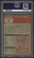1953 Topps #1 Jackie Robinson (PSA 3) at PristineAuction.com