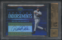 2006 Upper Deck Special F/X Special Endorsements #DJ Derek Jeter (BGS 9.5) at PristineAuction.com