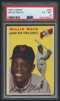 1954 Topps #90 Willie Mays (PSA 6) at PristineAuction.com