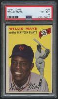 1954 Topps #90 Willie Mays (PSA 6)