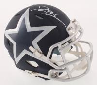 Deion Sanders Signed Dallas Cowboys AMP Alternate Speed Mini Helmet (Schwartz COA)