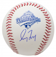 Greg Maddux Signed 1995 World Series Baseball (JSA COA)