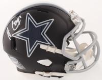 Amari Cooper Signed Dallas Cowboys Matte Black Speed Mini Helmet (Beckett COA)