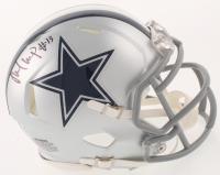 Michael Gallup Signed Dallas Cowboys Speed Mini Helmet (Beckett COA)