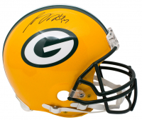 Davante Adams Signed Green Bay Packers Full-Size Authentic On-Field Helmet (JSA COA) at PristineAuction.com