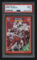 1989 Pro Set #494 Barry Sanders RC (PSA 9)