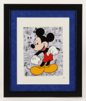 """Walt Disney's """"Mickey Mouse"""" 16x19 Custom Framed Animation Serigraph Display at PristineAuction.com"""