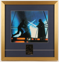 """Star Wars: The Empire Strikes Back""19x20 Custom Framed Photo Display with (1) 23Kt Gold Card"