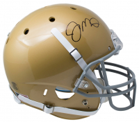 Joe Montana Signed Notre Dame Fighting Irish Full-Size Helmet (JSA COA)