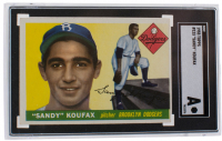 1955 Topps #123 Sandy Koufax RC (SGC Authentic)