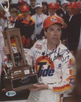 "Darrell Waltrip Signed NASCAR 8x10 Photo Inscribed ""17"" (Beckett COA)"