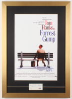 "Tom Hanks Signed ""Forrest Gump"" 17x24 Custom Framed Cut Display (PSA COA)"