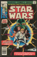 """1977 """"Star Wars"""" Issue #1 Marvel Comic Book"""