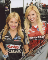 Brittany Force & Courtney Force Signed 8x10 Photo (Beckett COA)