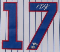 Kris Bryant Signed Chicago Cubs 31.5x36.5 Custom Framed Jersey Display (Fanatics Hologram & MLB Hologram) at PristineAuction.com