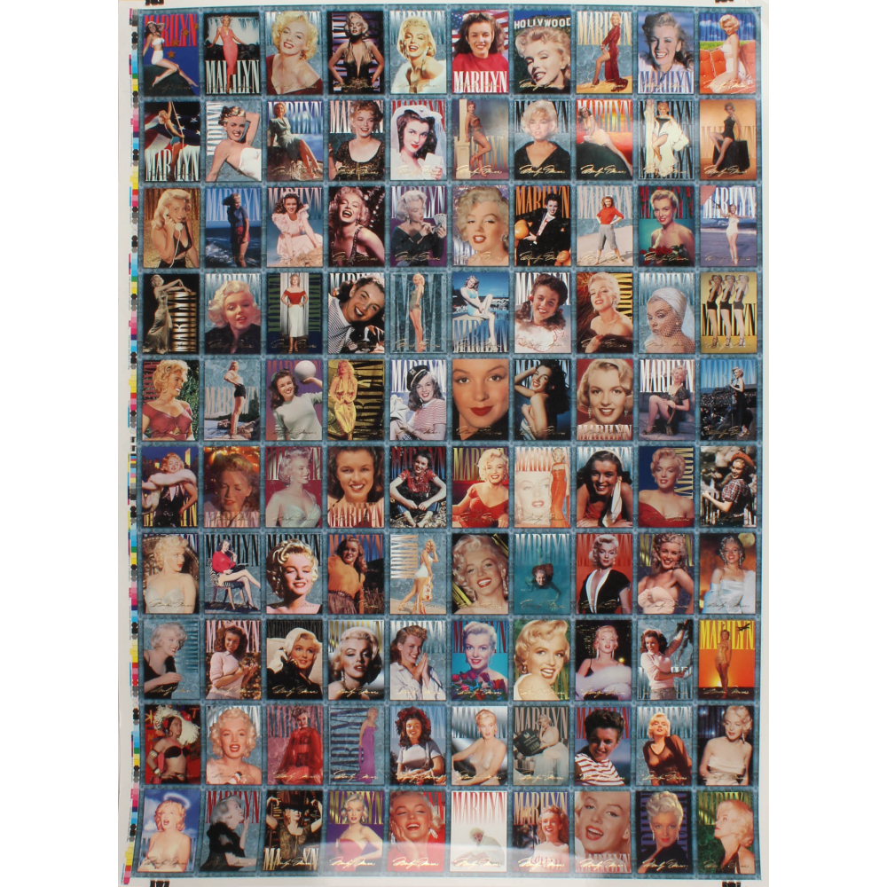 Marilyn Monroe Trading Card Set of 100 Cards