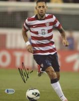 Clint Dempsey Signed Team USA 8x10 Photo (Beckett COA)
