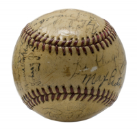 1940 Pittsburgh Pirates Baseball Team-Signed by (27) with Honus Wagner, Mace Brown, Ray Berres, Rip Sewell, Bill Brubaker (PSA LOA)