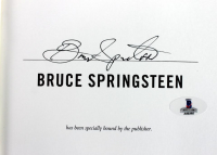 """Bruce Springsteen Signed """"Born to Run"""" First Edition Hardcover Book (Beckett LOA) at PristineAuction.com"""