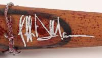 "Jeffrey Dean Morgan Signed ""The Walking Dead"" Lucille Barbed Wire Baseball Bat (Beckett COA)"
