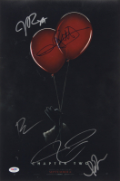 """IT Chapter Two"" 12x18 Photo Cast-Signed By (5) with James McAvoy, Isaiah Mustafa, Andy Muschietti, Bill Hader & James Ransone (PSA LOA) at PristineAuction.com"