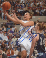 Diana Taurasi Signed UConn Huskies 8x10 Photo (Beckett COA)