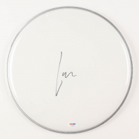 """Lars Ulrich Signed 12"""" Drumhead (PSA COA) at PristineAuction.com"""