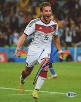 Mario Gotze Signed Germany 8x10 Photo (Beckett COA)