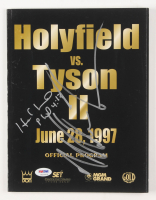 Mike Tyson & Evander Holyfield Signed 1997 Official Program (PSA COA) at PristineAuction.com