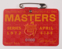 1972 Masters Tournament Golf Badge at PristineAuction.com