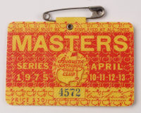 1975 Masters Augusta Tournament Golf Badge at PristineAuction.com