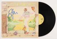 "Elton John Signed ""Goodbye Yellow Brick Road"" Vinyl Record Album Cover (PSA COA) at PristineAuction.com"