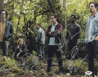 """IT Chapter Two"" 11x14 Photo Cast-Signed By (7) with James McAvoy, Isaiah Mustafa, Andy Muschietti, Jessica Chastain, Bill Hader & James Ransone (PSA LOA)"