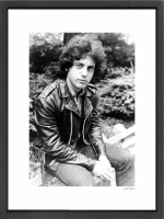 """Billy Joel"" 16x20 Custom Framed Globe Hollywood Photo at PristineAuction.com"
