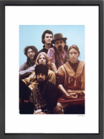 """""""The Grateful Dead"""" 24x30 Custom Framed Globe Hollywood Photo at PristineAuction.com"""