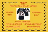 """Brady Box"" Loaded Mystery Box - Football Jersey Series 6 (Find the Tom Brady Jersey!)"