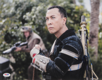 """Donnie Yen Signed """"Rogue One"""" 11x14 Photo (PSA Hologram) at PristineAuction.com"""