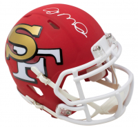 Joe Montana Signed San Francisco 49ers AMP Alternate Speed Mini Helmet (JSA COA)