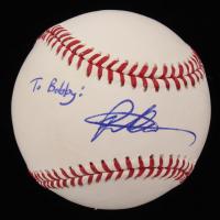 Pete Alonso Signed OML Baseball (JSA COA)
