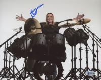 Nicko McBrain Signed 8x10 Photo (Beckett COA)