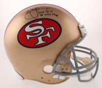 "Steve Young Signed San Francisco 49ers Full-Size Authentic On-Field Helmet Inscribed ""HOF 2005"" & ""SB XXIX MVP"" (JSA COA)"