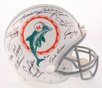 1972 Super Bowl Champions Miami Dolphins Full-Size Authentic On-Field Helmet Team-Signed by (27) with Bob Griese, Larry Little, Mercury Morris, Jake Scott, Dick Anderson (JSA COA)