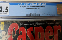 "1954 ""Casper, The Friendly Ghost"" Issue #20 Harvey Comic Book (CGC 2.5) at PristineAuction.com"