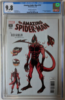 "2018 ""The Amazing Spider-Man"" Issue #797 1:10 Ed McGuinness Variant Marvel Comic Book (CGC 9.8) at PristineAuction.com"