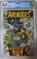 "1970 ""The Avengers"" Issue #74 Marvel Comic Book (CGC 5.5) at PristineAuction.com"