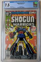 "1979 ""Shogun Warriors"" Issue #1 Marvel Comic Book (CGC 7.5) at PristineAuction.com"