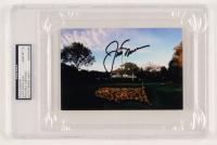 Jack Nicklaus Signed 4x6 Photo (PSA Encapsulated)